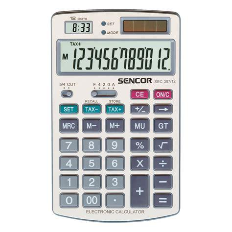 sec section 12 kalkulator biurowy sec 387 12 sencor let s live