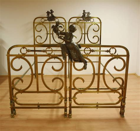 19th century pair of brass beds for sale at 1stdibs