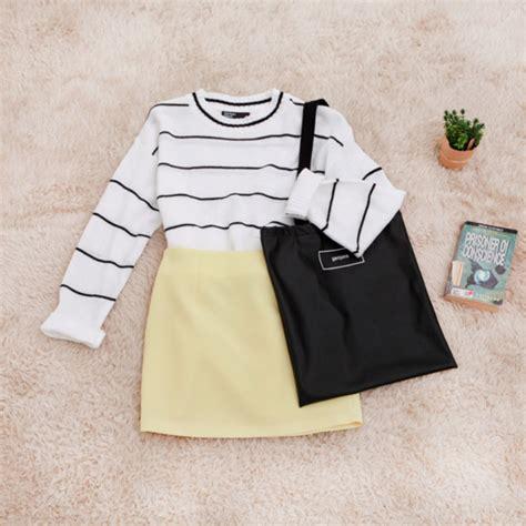 Boyset 5 In 1 Korean White Set korean fashion sets official korean fashion