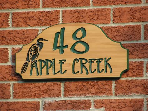 address plaques for house making home address plaques the homy design