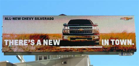pin by sebold on cbs outdoor ads