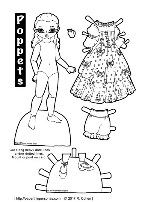 printable paper doll shoes dolls archives paper thin personas