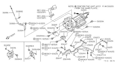 1996 nissan parts diagram wiring diagram