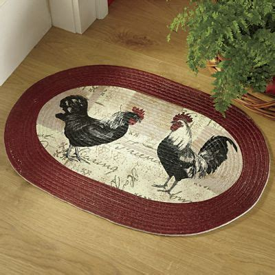 country door rugs rooster braided rug from country door 723173
