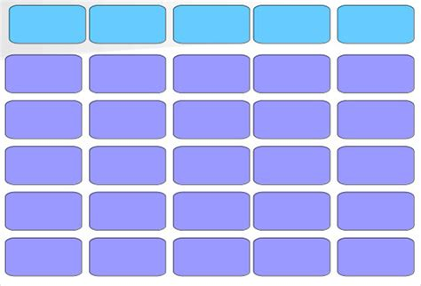 Blank Jeopardy Template Blank Templates Free Premium Jeopardy Template
