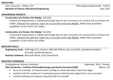 examples of a good resume great 10 download great resume objective