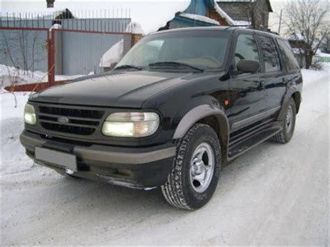Owners Manual Ford Explorer 1996 Free Download Repair