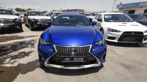 lexus rc 350 f sport for sale lexus rc 350 f sport for sale aed 195 000 blue 2015