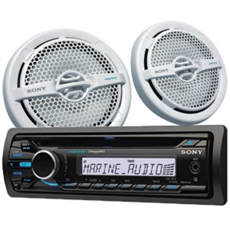 boat radio with speakers installing boat stereo vs waterproof bluetooth portable