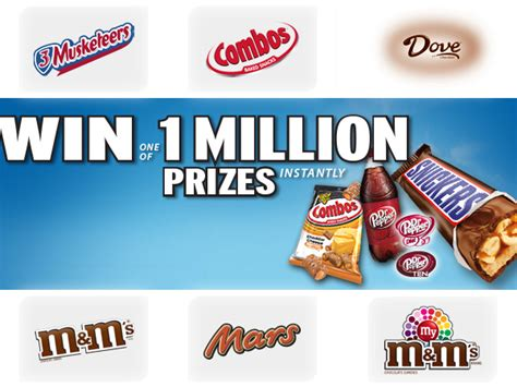 Mars Sweepstakes - expiring soon instantly win 1 of the 1 million prizes from 169 mars blissxo com