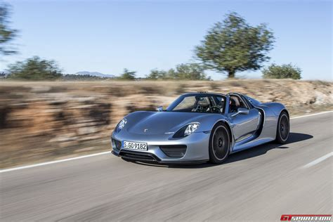 blue porsche spyder gtspirit 2014 porsche 918 spyder liquid chrome blue 0020