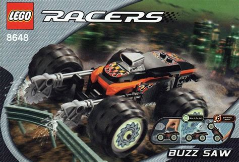 Lego Mobile Racers Buzz Saw set number 8648 1 brickset lego set guide and database