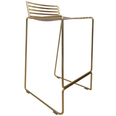 studio wire counter stool gold studio wire counter stool temple webster