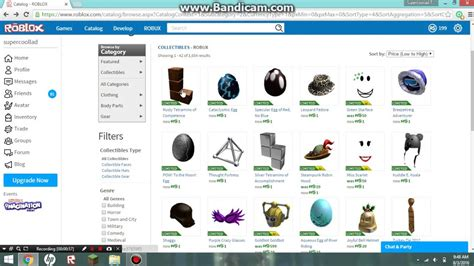 roblox catalog roblox catalog down items for 1 robux youtube