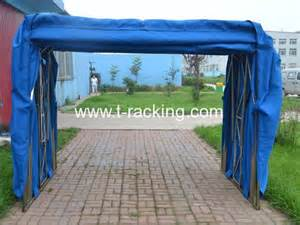 Car Cover For Garage Foldable Mobile Car Garage