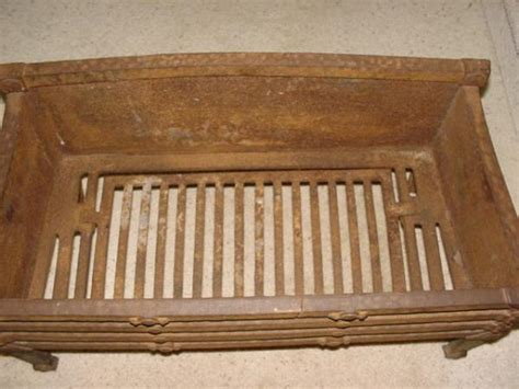 Vintage Fireplace Grate by Vintage Antique Cast Iron Fireplace Grate Coal Log