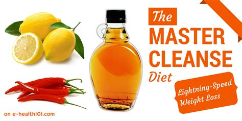 10 Day Master Cleanse Detox Diet by Beyonce S Master Cleanse Diet Lightning Speed Weight Loss
