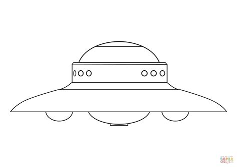 printable ufo pictures alien flying saucer coloring page free printable