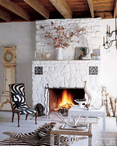 Painted Flagstone Fireplace by Best 25 White Fireplaces Ideas On White Ledger Fireplace And