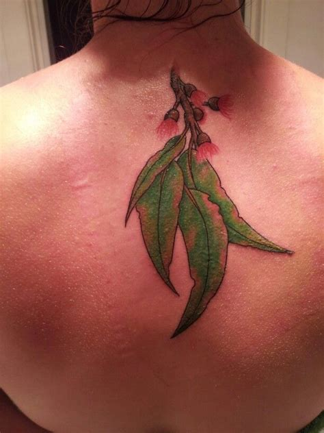 gum tattoo my aussie gum leaf i it australiana