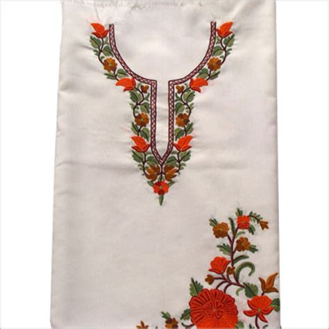 Handmade Embroidery Designs Suits - courses saroja school of embroidery