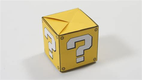 Origami Question - origami question box