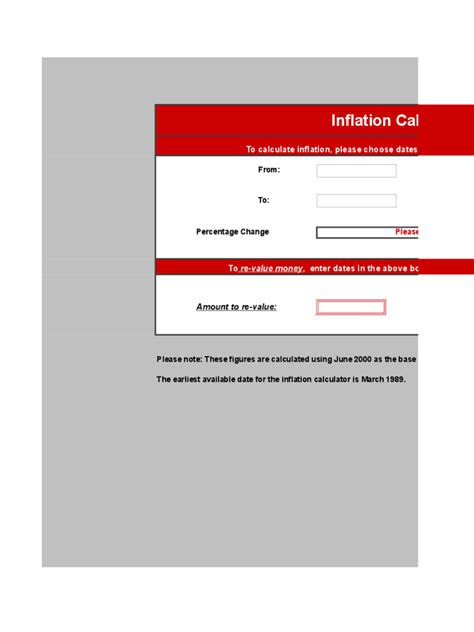 inflation calculator template inflation calculator template 4 free templates in pdf