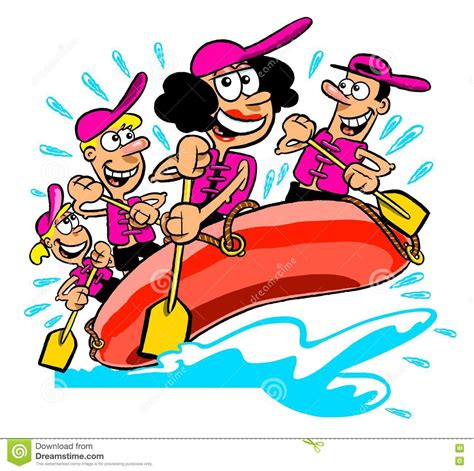 rafting boat clipart rafting clipart funny pencil and in color rafting