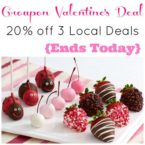 valentines groupon groupon s deal 20 up to 3 local deals