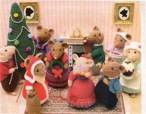 knitting pattern christmas mouse pinterest the world s catalog of ideas