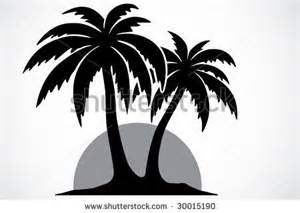 Palm Tree Stencil Outline by Palm Tree Stencil Patterns Stenciling