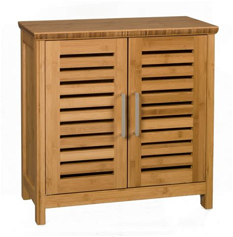 Horizontal Storage Cabinet Bamboo Bathroom Cabinet Greenbamboofurniture