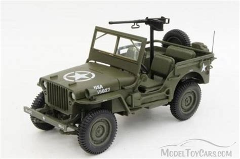 willys jeep truck green 1942 vehicle us army willys jeep green norev