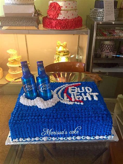 bud light bottles birthday cake visit us
