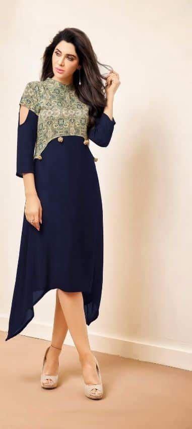 stylish kurti neck designs  women simple craft ideas