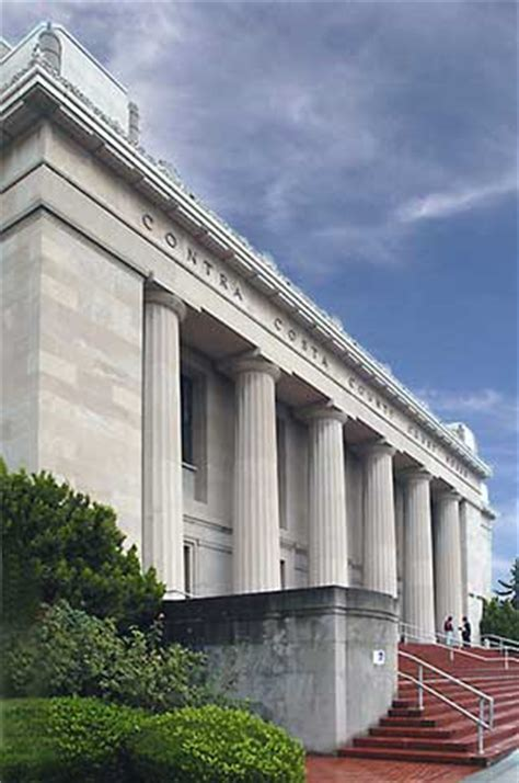 Contra Costa County Court Records National Register 91001385 Contra Costa County Court House In Martinez California
