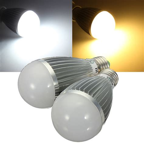 240v Led Light Bulbs E27 8w Warm White White Energy Saving Led Globe Light Bulb 110 240v Alex Nld