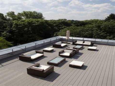 installing composite decking  uneven concrete youtube