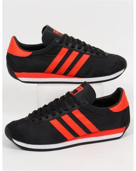 Adidas Sepasang Anti Air Black Orange orange and black shoes shoes for yourstyles