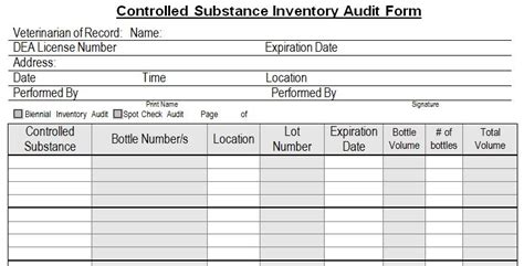 dental record card audit template controlled subtance basics