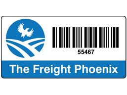 Label Barcode Ukuran 52 X 25mm logo design barcode label 25 x 50mm bce03 label source