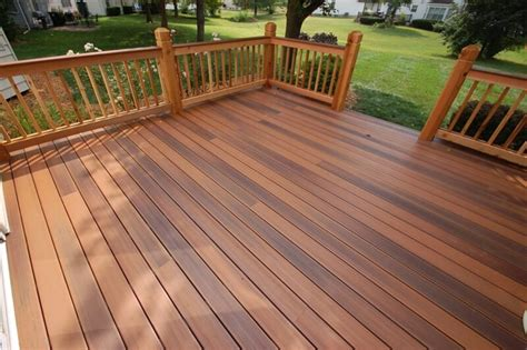 materials for building a deck how capped composite materials overcome common decking