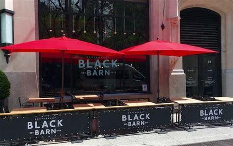 best live restaurants nyc zagat names black barn top ten outdoor nyc dining space