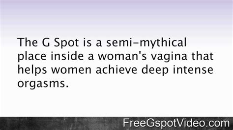 Finding The G Spot by How To Find The G Spot