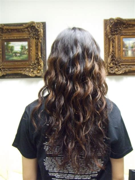 beach wave perm for long hair loose curl perm for long hair 1000 ideas about beach wave