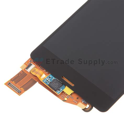 Lcd Z3 Compact sony xperia z3 compact lcd screen and digitizer assembly black etrade supply