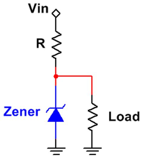 zener diode with no load zener diode calculators