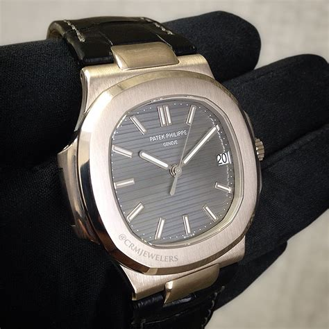 Patek Philippe 8255 Rosegold Brown Leather patek philippe nautilus gold leather
