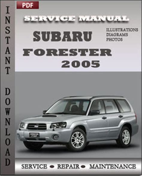 how to fix cars 2005 subaru forester seat position control subaru forester 2005 service guide servicerepairmanualdownload com