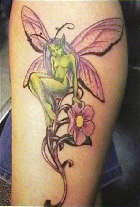 gothic fairy tattoos designs 47 with flowers tattoos ideas